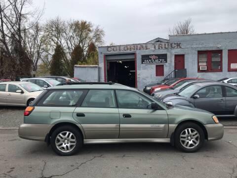 2004 Subaru Outback for sale at Dan's Auto Sales and Repair LLC in East Hartford CT