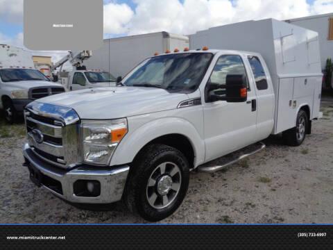2013 Ford F-350 Super Duty for sale at Miami Truck Center in Hialeah FL