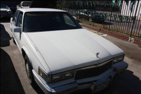 1989 Cadillac DeVille for sale at Frank Corrente Cadillac Corner in Hollywood CA