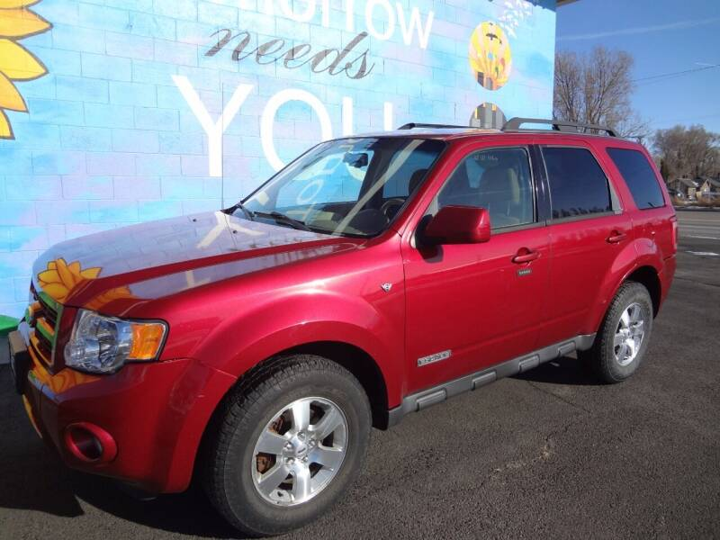 2008 Ford Escape for sale at FINISH LINE AUTO SALES in Idaho Falls ID