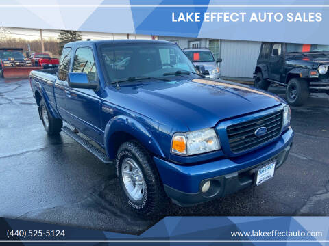 2009 Ford Ranger for sale at Lake Effect Auto Sales in Chardon OH