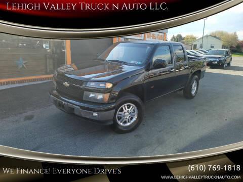 2011 Chevrolet Colorado for sale at Lehigh Valley Truck n Auto LLC. in Schnecksville PA