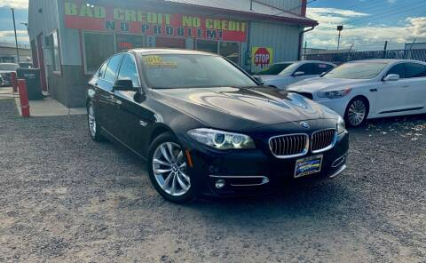 2016 BMW 5 Series for sale at Yaktown Motors in Union Gap WA
