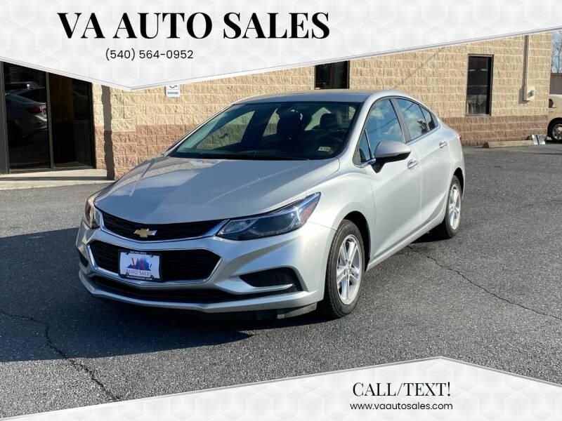 2018 Chevrolet Cruze for sale at Va Auto Sales in Harrisonburg VA