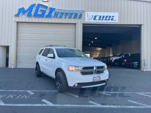 2013 Dodge Durango for sale at MGI Motors in Sacramento CA