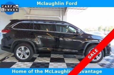 2018 Toyota Highlander for sale at McLaughlin Ford in Sumter SC
