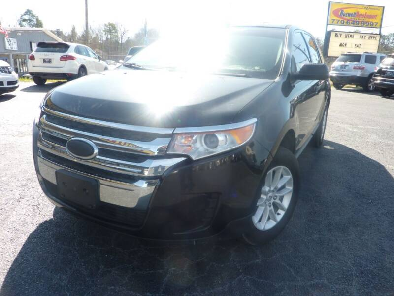 2013 Ford Edge for sale at Roswell Auto Imports in Austell GA