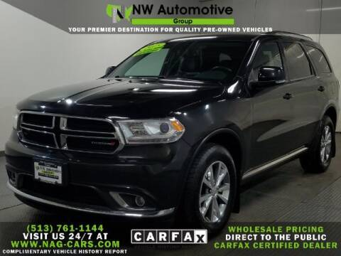 2015 Dodge Durango for sale at NW Automotive Group in Cincinnati OH