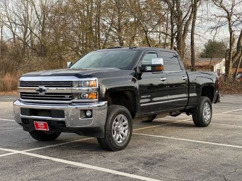 2015 Chevrolet Silverado 2500HD for sale at Hillcrest Motors in Derry NH