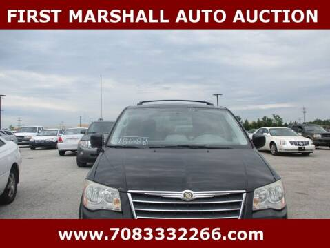 2010 Chrysler Town and Country for sale at First Marshall Auto Auction in Harvey IL