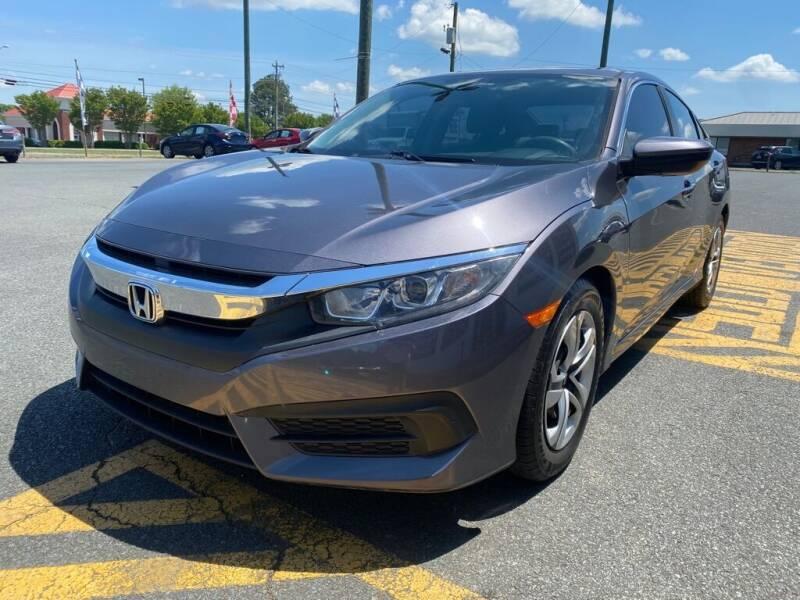 2016 Honda Civic for sale at Auto America - Monroe in Monroe NC