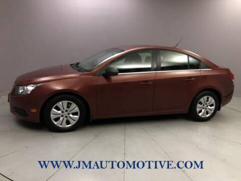 2012 Chevrolet Cruze for sale at J & M Automotive in Naugatuck CT