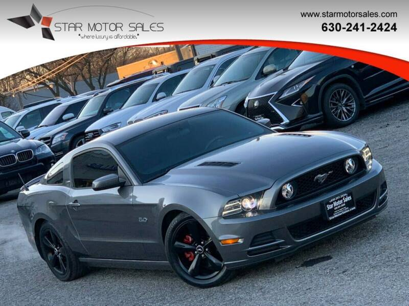 2014 Ford Mustang for sale at Star Motor Sales in Downers Grove IL