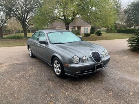 2002 Jaguar S-Type for sale at CARWIN MOTORS in Katy TX