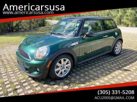 2013 MINI Hardtop for sale at Americarsusa in Hollywood FL