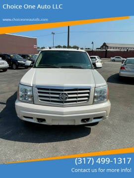 2005 Cadillac Escalade for sale at Choice One Auto LLC in Beech Grove IN
