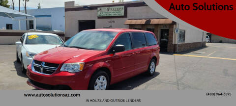 2012 Dodge Grand Caravan for sale at Auto Solutions in Mesa AZ