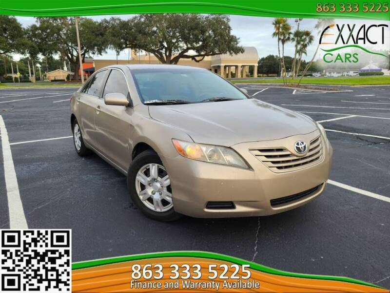 2007 Toyota Camry for sale at Exxact Cars in Lakeland FL