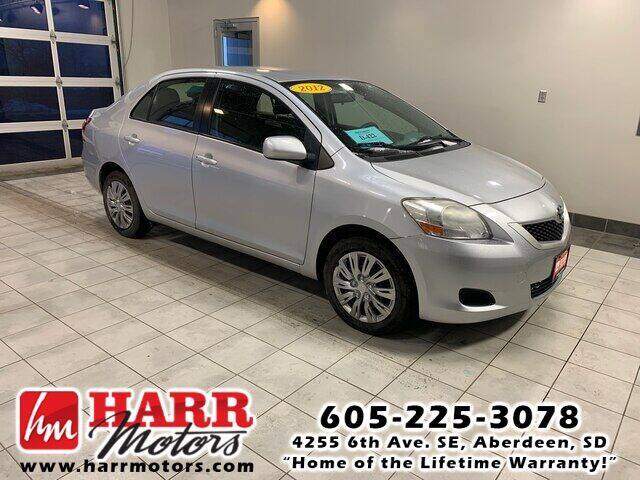 2012 Toyota Yaris for sale at Harr Motors Bargain Center in Aberdeen SD