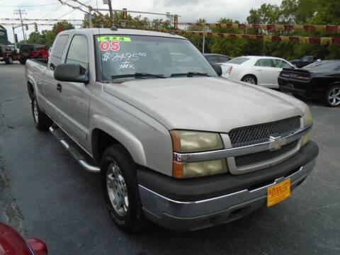2005 Chevrolet Silverado 1500 for sale at River City Auto Sales in Cottage Hills IL