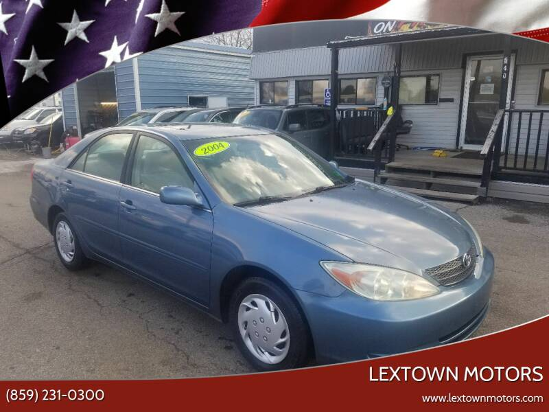 2004 Toyota Camry for sale at LexTown Motors in Lexington KY
