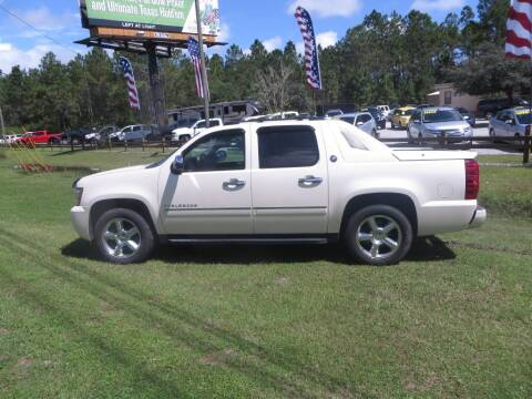 2013 Chevrolet Avalanche for sale at Ward's Motorsports in Pensacola FL
