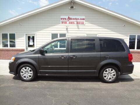 2016 Dodge Grand Caravan for sale at GIBB'S 10 SALES LLC in New York Mills MN