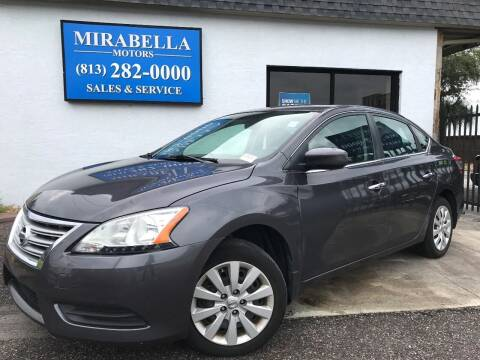 2015 Nissan Sentra for sale at Mirabella Motors in Tampa FL