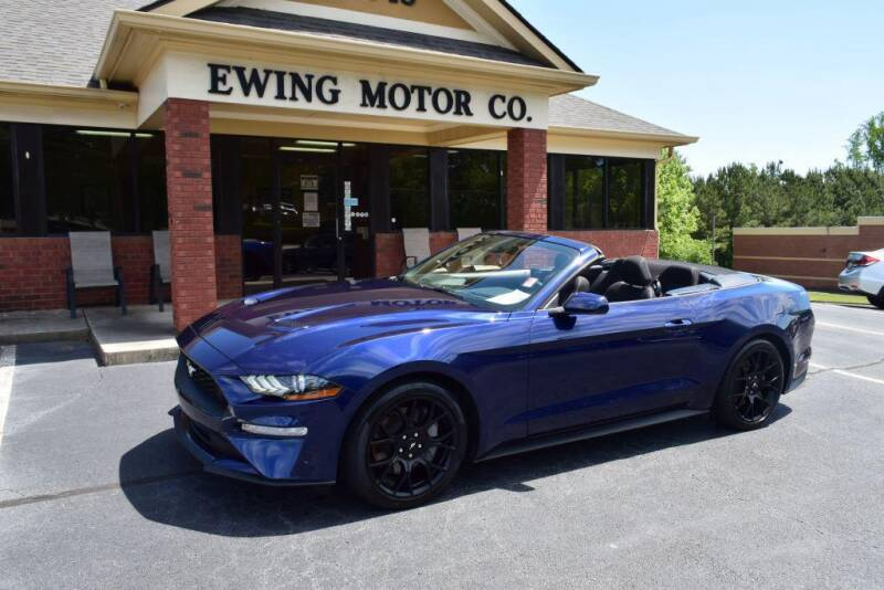 2019 Ford Mustang for sale at Ewing Motor Company in Buford GA