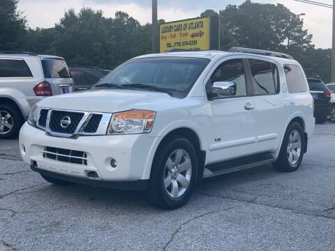 2008 Nissan Armada for sale at Luxury Cars of Atlanta in Snellville GA