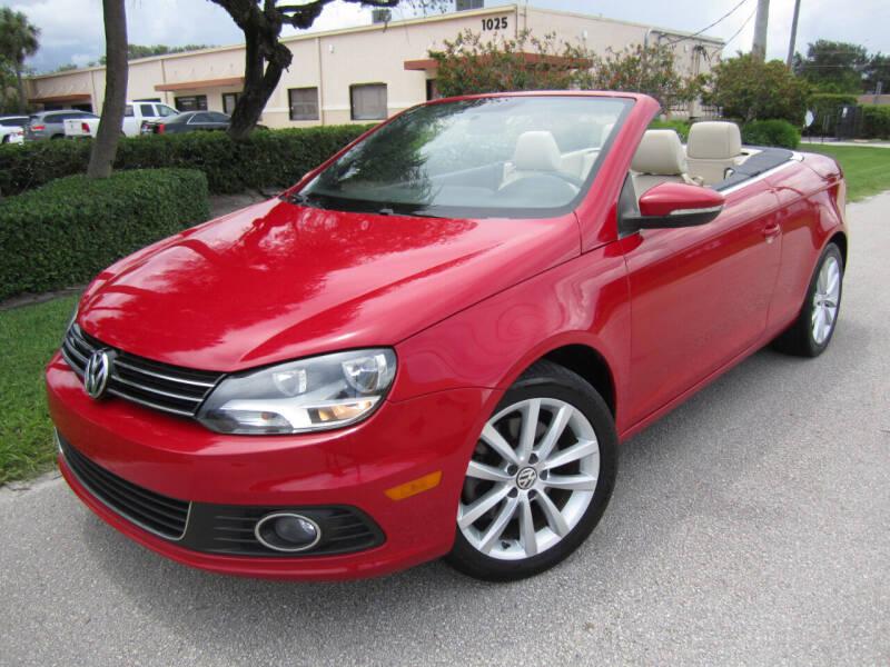 2013 Volkswagen Eos for sale in West Palm Beach, FL