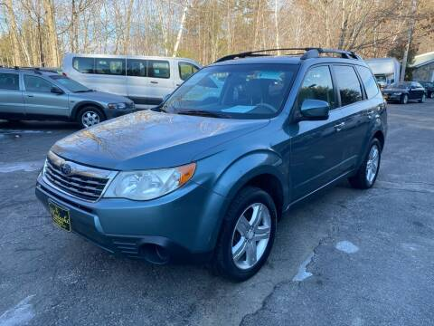 2009 Subaru Forester for sale at Bladecki Auto in Belmont NH