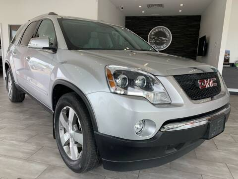 2011 GMC Acadia for sale at Evolution Autos in Whiteland IN
