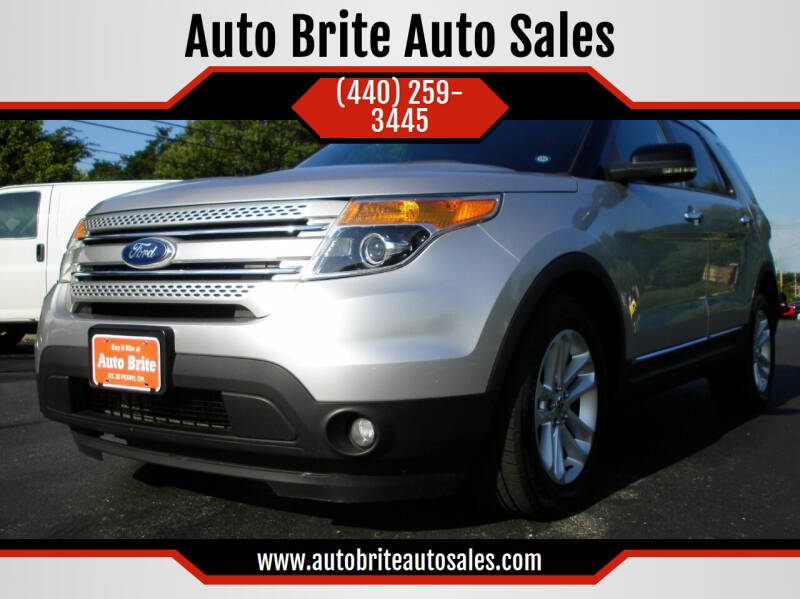 2011 Ford Explorer for sale at Auto Brite Auto Sales in Perry OH