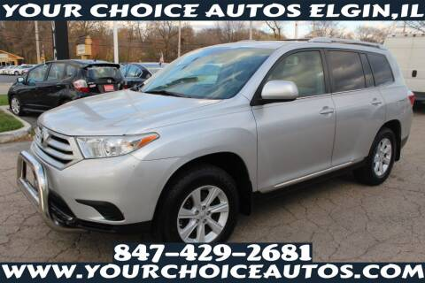 2012 Toyota Highlander for sale at Your Choice Autos - Elgin in Elgin IL