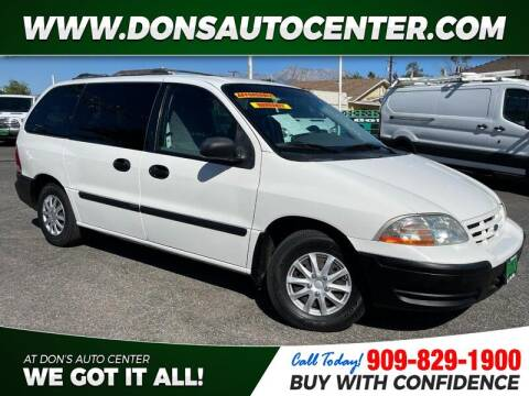 2000 Ford Windstar for sale at Dons Auto Center in Fontana CA