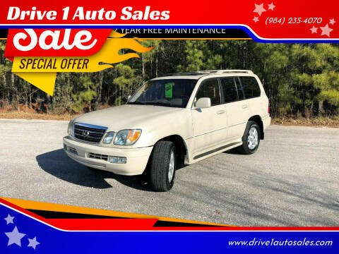 2003 Lexus LX 470 for sale at Drive 1 Auto Sales in Wake Forest NC
