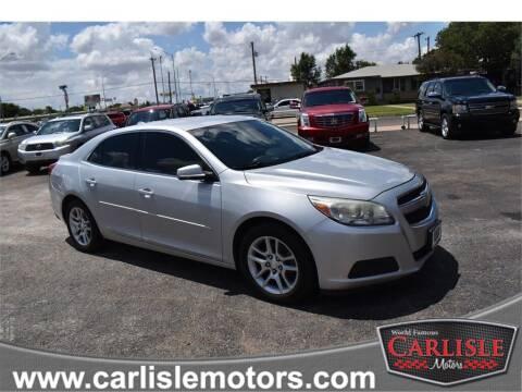 2013 Chevrolet Malibu for sale at Carlisle Motors in Lubbock TX