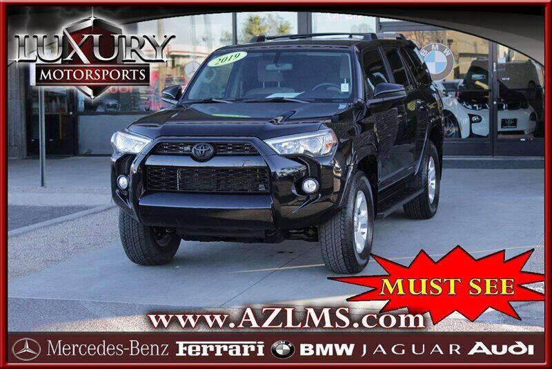 2019 Toyota 4Runner for sale at Luxury Motorsports in Phoenix AZ