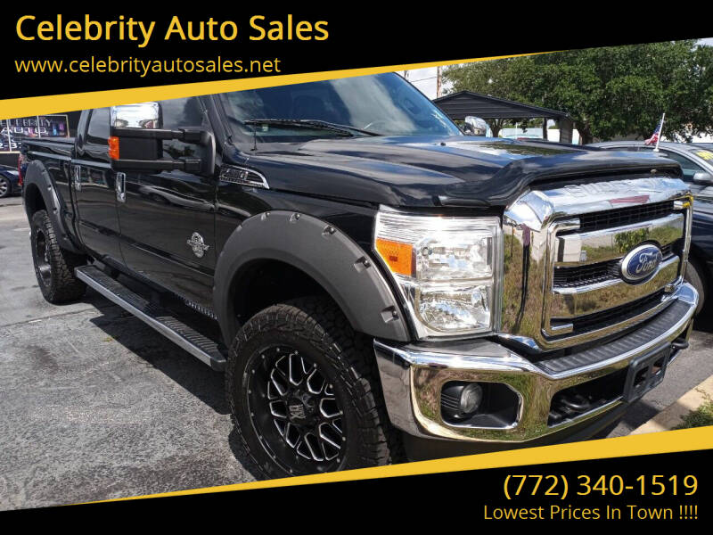 2011 Ford F-350 Super Duty for sale at Celebrity Auto Sales in Port Saint Lucie FL