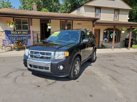 2011 Ford Escape for sale at BIG #1 INC in Brownstown MI
