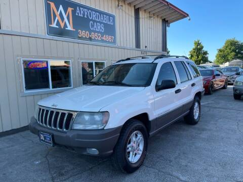 2003 Jeep Grand Cherokee for sale at M & A Affordable Cars in Vancouver WA