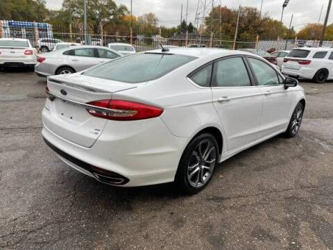2017 Ford Fusion for sale at KING AUTO SALES  II in Detroit MI