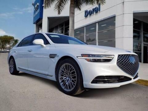 2021 Genesis G90 for sale at DORAL HYUNDAI in Doral FL