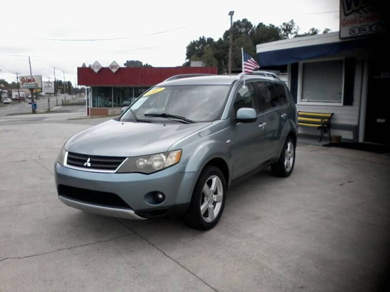 2007 Mitsubishi Outlander for sale at West Elm Motors in Graham NC