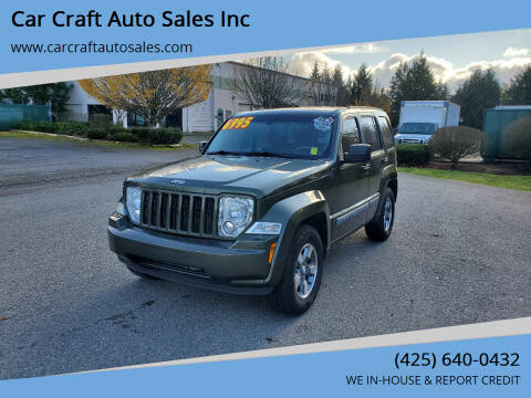 2008 Jeep Liberty for sale at Car Craft Auto Sales Inc in Lynnwood WA