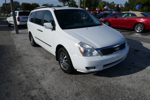 2011 Kia Sedona for sale at J Linn Motors in Clearwater FL