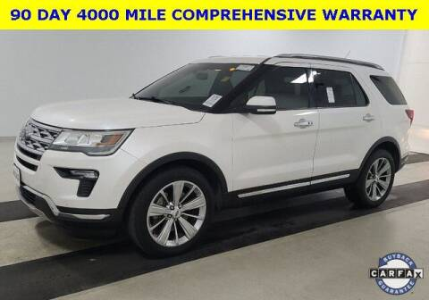 2018 Ford Explorer for sale at PHIL SMITH AUTOMOTIVE GROUP - Tallahassee Ford Lincoln in Tallahassee FL