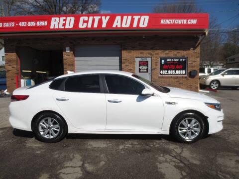 2017 Kia Optima for sale at Red City  Auto in Omaha NE