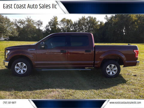 2016 Ford F-150 for sale at East Coast Auto Sales llc in Virginia Beach VA